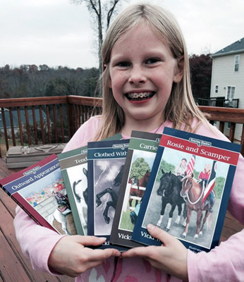 books for horse crazy girls