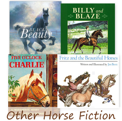 fiction horse books for kids