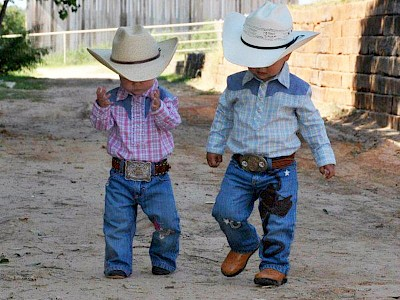 cute little cowboys
