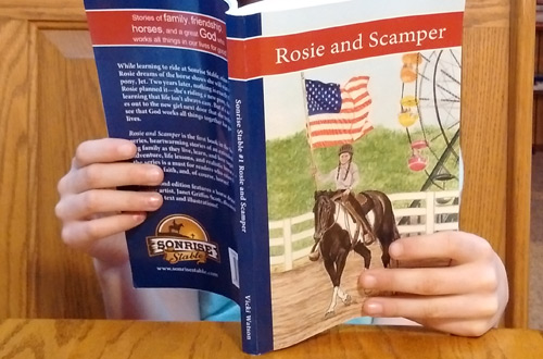 foster daughter reading sonrise stable