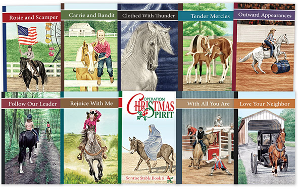 international sales sonrise stable books