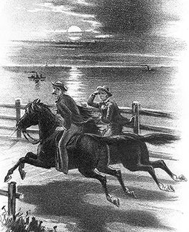 john wilkes booth escapes on horseback